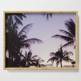 Hawaiian Palm Trees Serving Tray