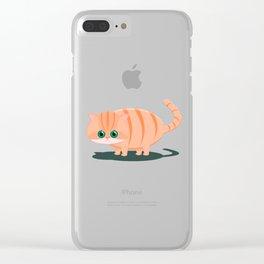 Fatty Cat Clear iPhone Case