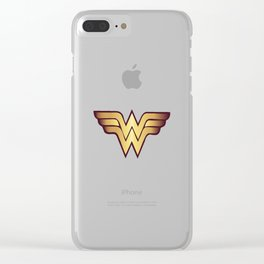 Wonder Wome Clear iPhone Case