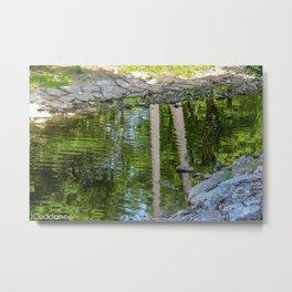 Akron Falls Creek  Metal Print