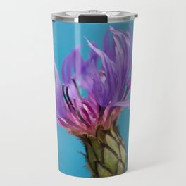 Purple Mountain Cornflower No.2 Travel Mug