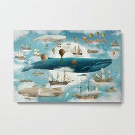 Ocean Meets Sky - from picture book Metal Print