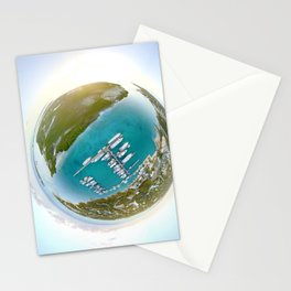 Tiny Planet Turks and Caicos Stationery Cards