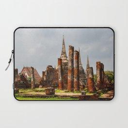Ruins of Ayutthaya Laptop Sleeve