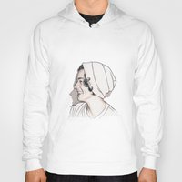 harry styles Hoodies featuring Harry Styles by Cécile Pellerin