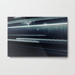 Speed in the night Metal Print