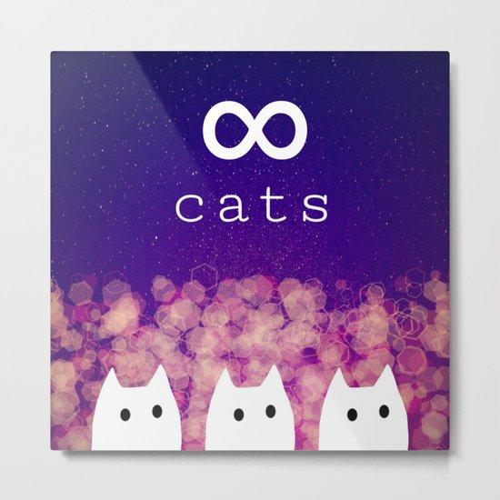 cats-447 Metal Print