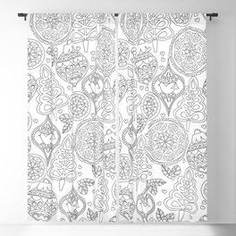 Jolly - Coloring Book Blackout Curtain