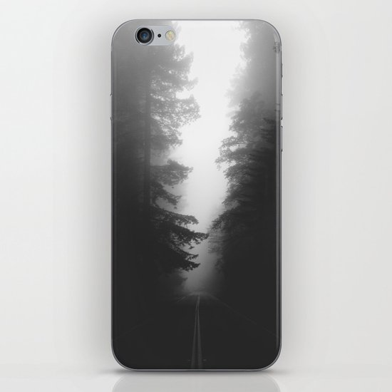 Foggy Road iPhone & iPod Skin