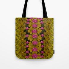 Flowers everywhere for making pleasure pop art Tote Bag
