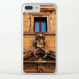 S. Maria in Trivio church in Rome Clear iPhone Case