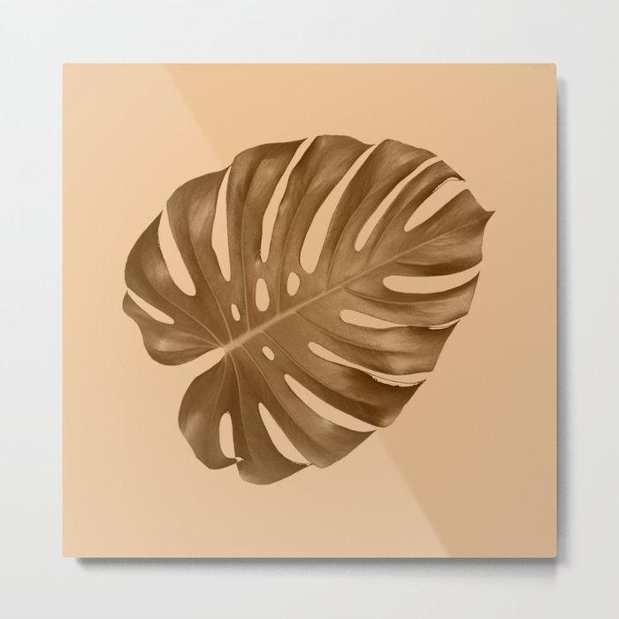 Silent leaf Metal Print