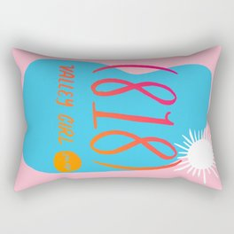 Valley Girl Rectangular Pillow