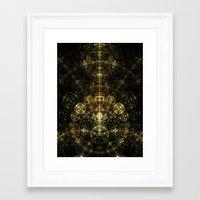 matrix Framed Art Prints featuring Matrix by Eli Vokounova