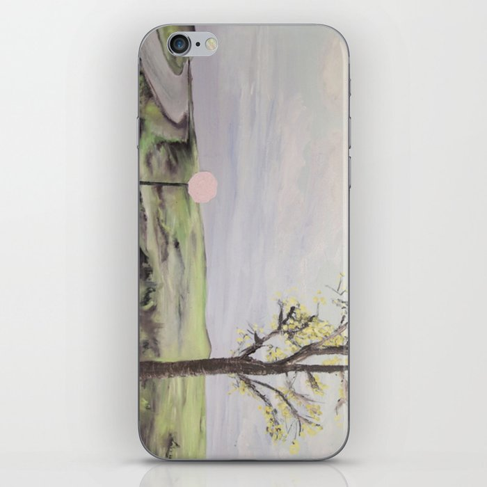 where the dark doors of our dreams are always wide open iPhone Skin