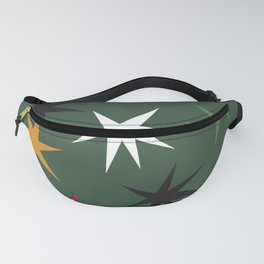 Keep Your Sparkle - Dark Green Fanny Pack