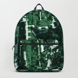 Khaki Bust Backpack