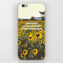 She is clothed with strength and dignity iPhone Skin