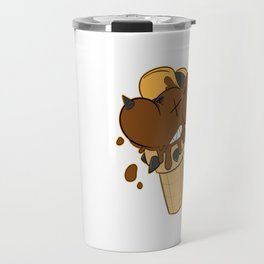 Cone Dog Chocolate Travel Mug