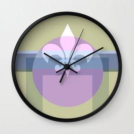 Royally Abstract Wall Clock