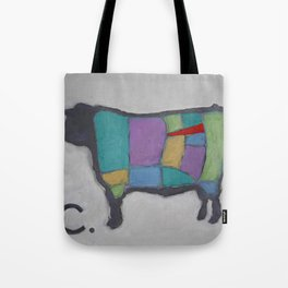 Cuts of Beef - Butcher Reference - Tenderloin in Red Tote Bag