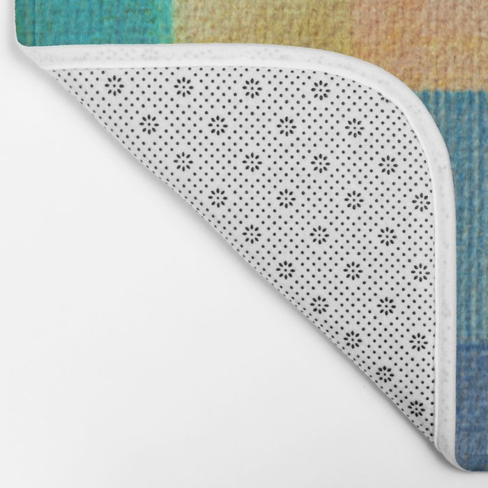 Blue Autumn Bath Mat