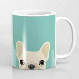 2 French Bulldogs Coffee Mug