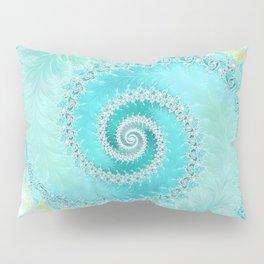 Teal Dreams Collection (1) - Fractal Art  Pillow Sham