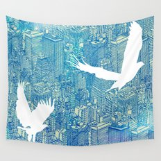 Ecotone (day) Wall Tapestry