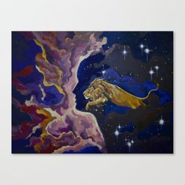 Aslan Is On the Move Canvas Print