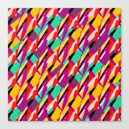 diagonal abstract  Canvas Print