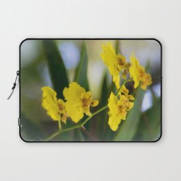 Yellow Orchids Laptop Sleeve