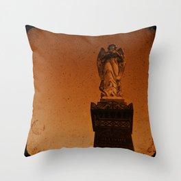 Angels Watch Throw Pillow