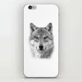 Wolf Portrait iPhone Skin
