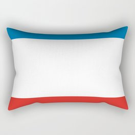 crimea republic ukraine region flag province Rectangular Pillow