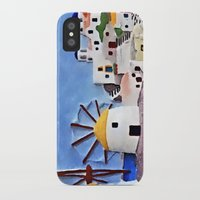 greek iPhone & iPod Cases featuring Greek island by Brian Raggatt