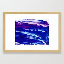 Waves Acrylic Framed Art Print