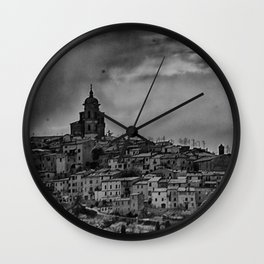 Italian Townscape Wall Clock