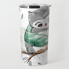 Magic Owls Travel Mug