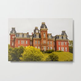 West Virginia Woodburn Hall Print Metal Print