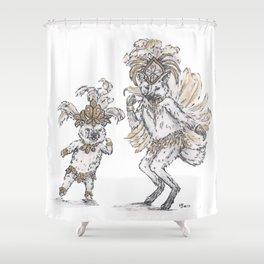 Tiny Dancer - Samba Shower Curtain
