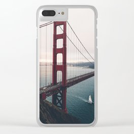 Golden Gate Bridge - San Francisco, CA Clear iPhone Case