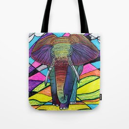 The Mighty Elephant Tote Bag