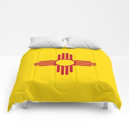 New Mexico State Flag Comforters