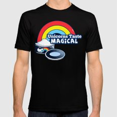 Magically Delicious Mens Fitted Tee Black MEDIUM