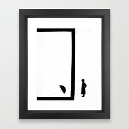 Darn It. Framed Art Print
