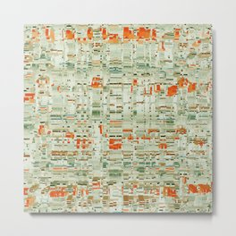 Abstract pattern 76 Metal Print