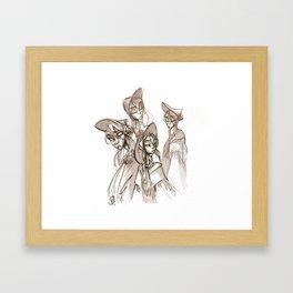 Hunter's Dream Framed Art Print