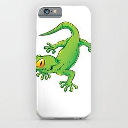 Green Gecko iPhone Case