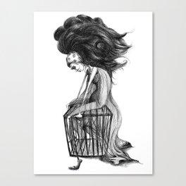 Madame Vaudeville Canvas Print